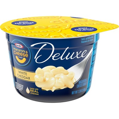 Kraft Deluxe White Cheddar Macaroni and Cheese Dinner - 2.39oz
