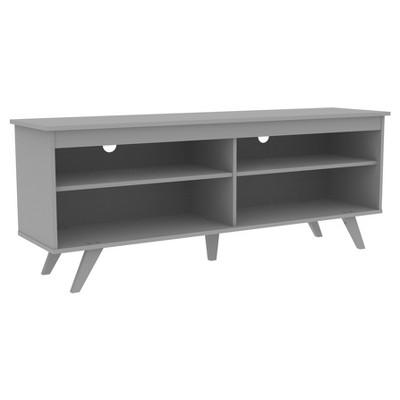 58  Wood Simple Contemporary Console, Gray - Saracina Home