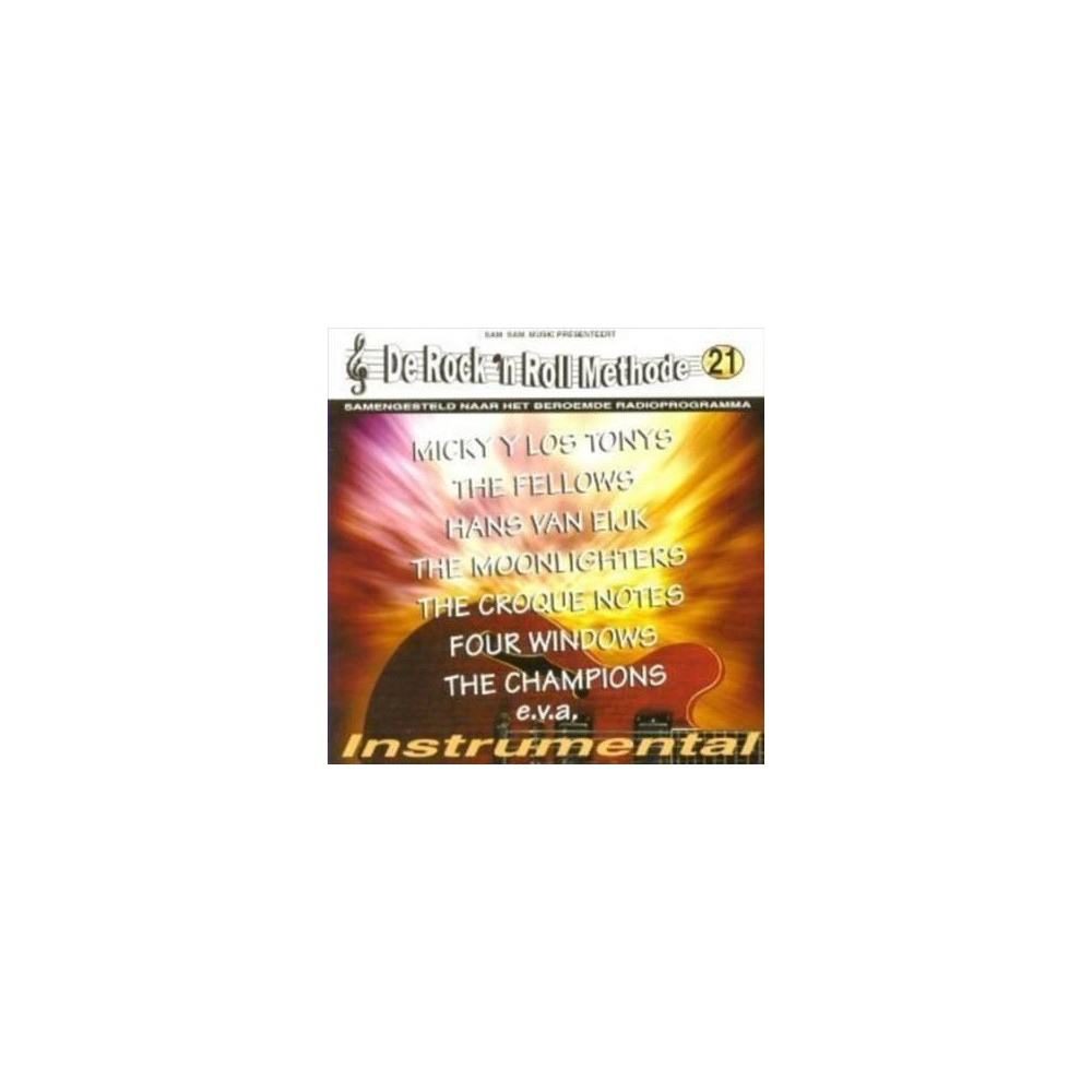 Various - De Rock N Roll Methode:Vol 21 (CD)