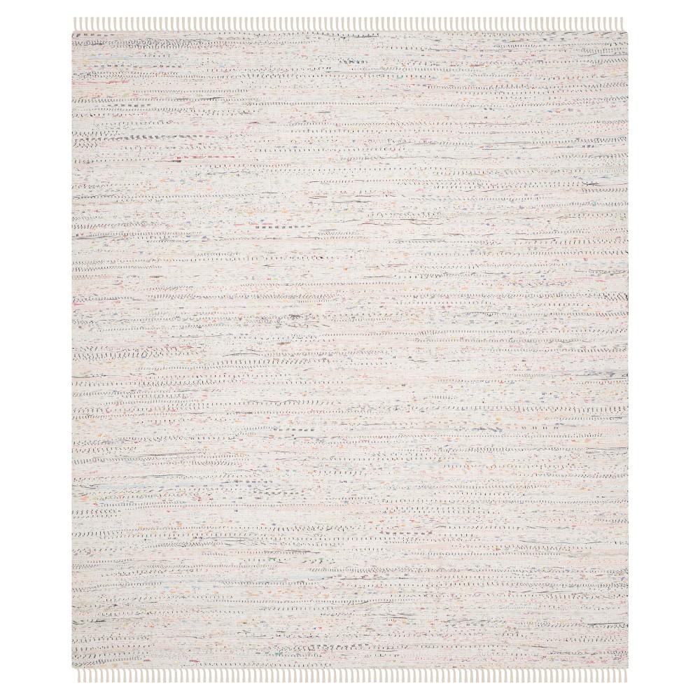 Huddersfield Area Rug - White / Multi (9' X 12' ) - Safavieh