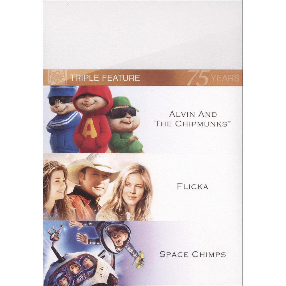 Alvin and the Chipmunks/Flicka/Space Chimps [Fox 75th Anniversary] [3 Discs]