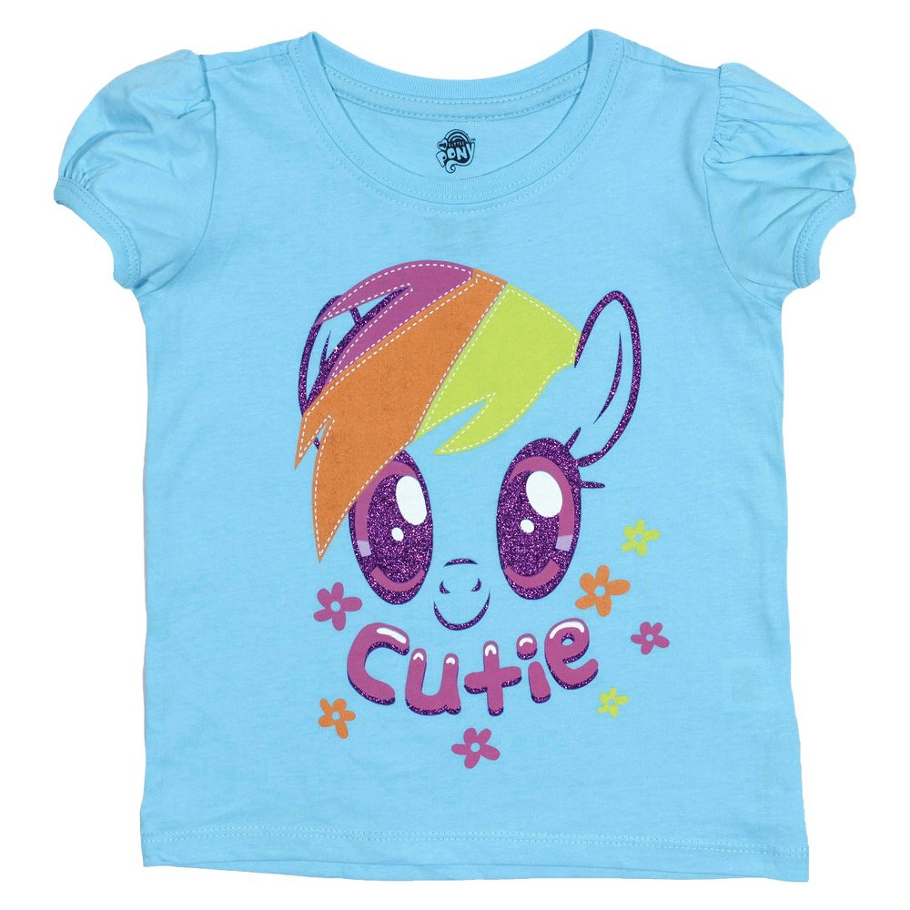 Toddler Girls' My Little Pony T-Shirt Blue 3T