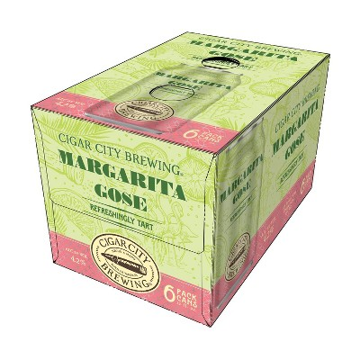 Cigar City Margarita Gose Beer - 6pk/12 fl oz Cans