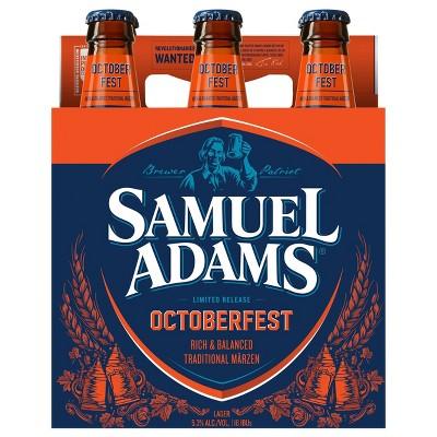 Samuel Adams OctoberFest Seasonal Beer - 6pk/12 fl oz Bottles