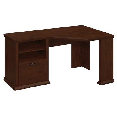 Bush Furniture Yorktown Corner Desk, Antique Cherry WC40315-03