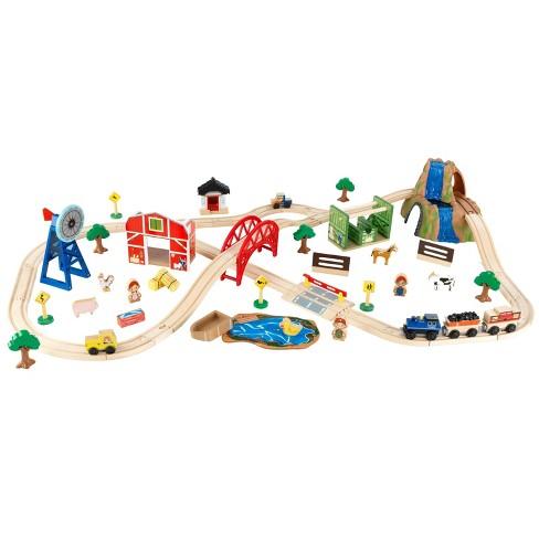 KidKraft Farm Train Set - image 1 of 4