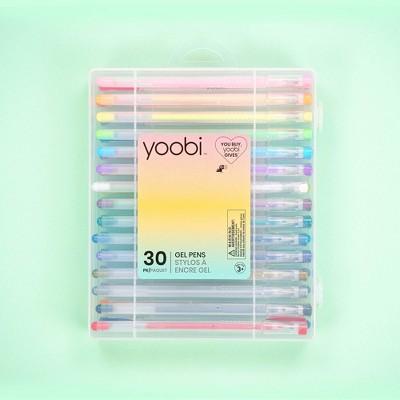 Yoobi™ 30pk Gel Pens Set Multicolor