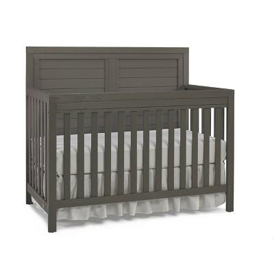 Ti Amo Castello 4-in-1 Standard Full-Sized Convertible Crib - Gray