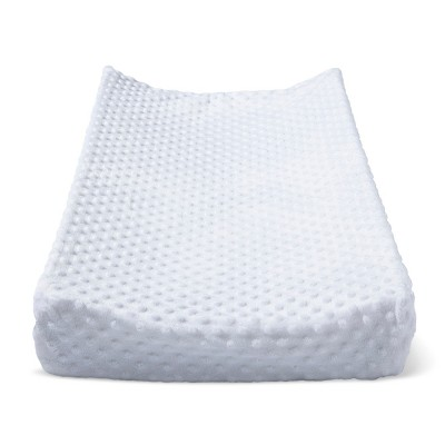 Plush Changing Pad Cover Solid - Cloud Island™ - White