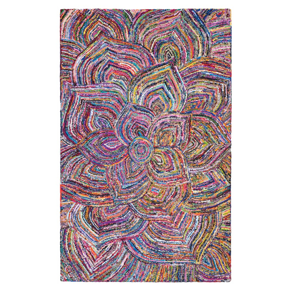 Multicolor Abstract Tufted Area Rug - (8'X10') - Safavieh, Multicolored