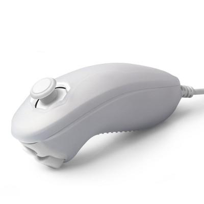 INSTEN Silicone Skin Case compatible with Nintendo Wii / Wii U Nunchuk, White