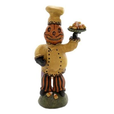 "Halloween 9.75"" Chef Candy Corn C.R. Mcclenning Studio  -  Decorative Figurines"