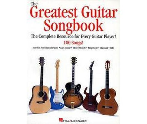 Greatest Guitar Songbook (Paperback) - image 1 of 1