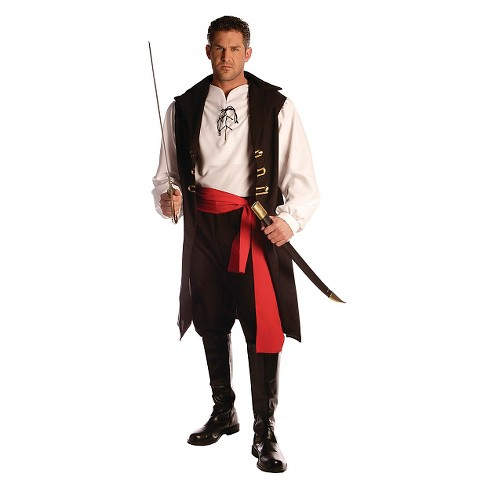 Men's Captain Cutthroat Costume One Size Fits Most - image 1 of 1