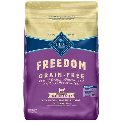 Cat Food: Blue Buffalo Freedom Indoor Mature