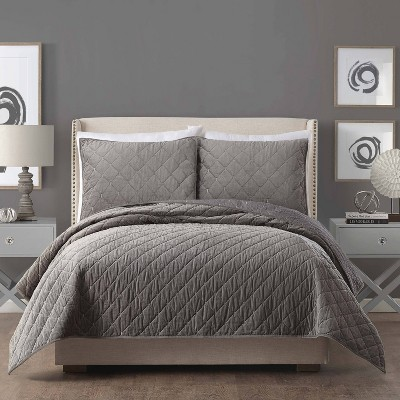 King Quilt Gray - Ayesha Curry