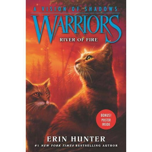 Warriors: A Vision of Shadows: River of Fire - by  Erin Hunter (Hardcover) - image 1 of 1