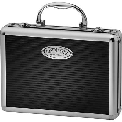 Casemaster Legion Extra Large Aluminum Ultra Premium 9 Dart Storage Case, Black (Darts and Accessories Sold Separately)