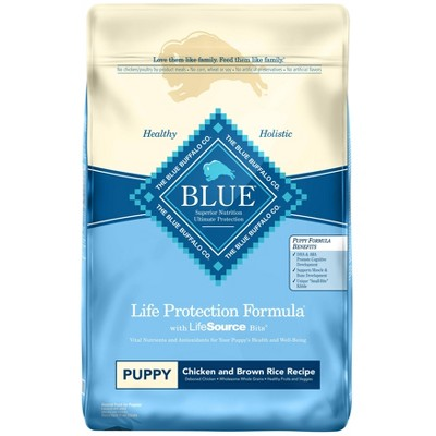 Blue Buffalo Life Protection Chicken & Brown Rice Recipe Puppy Dry Dog Food