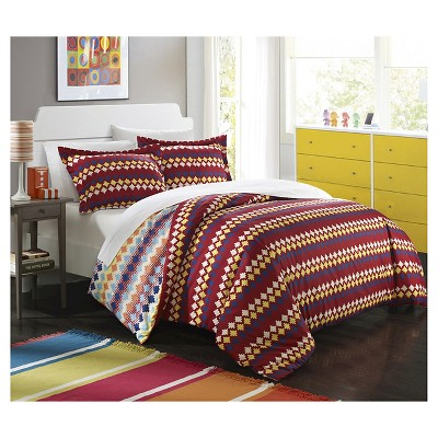 Indiana Southwestern Style Reversible Printed Comforter Set   Chic Home  Design®