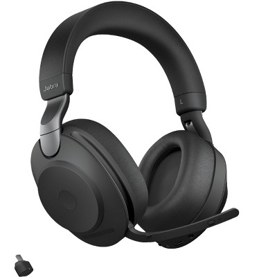 Jabra Evolve2 85 - USB-C MS Teams Stereo - Black Wireless Headset / Music Headphones