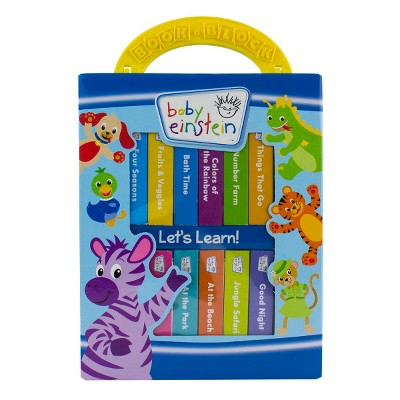 Baby Einstein 12 Book Block Set by Editors of Publications International (Board Book)