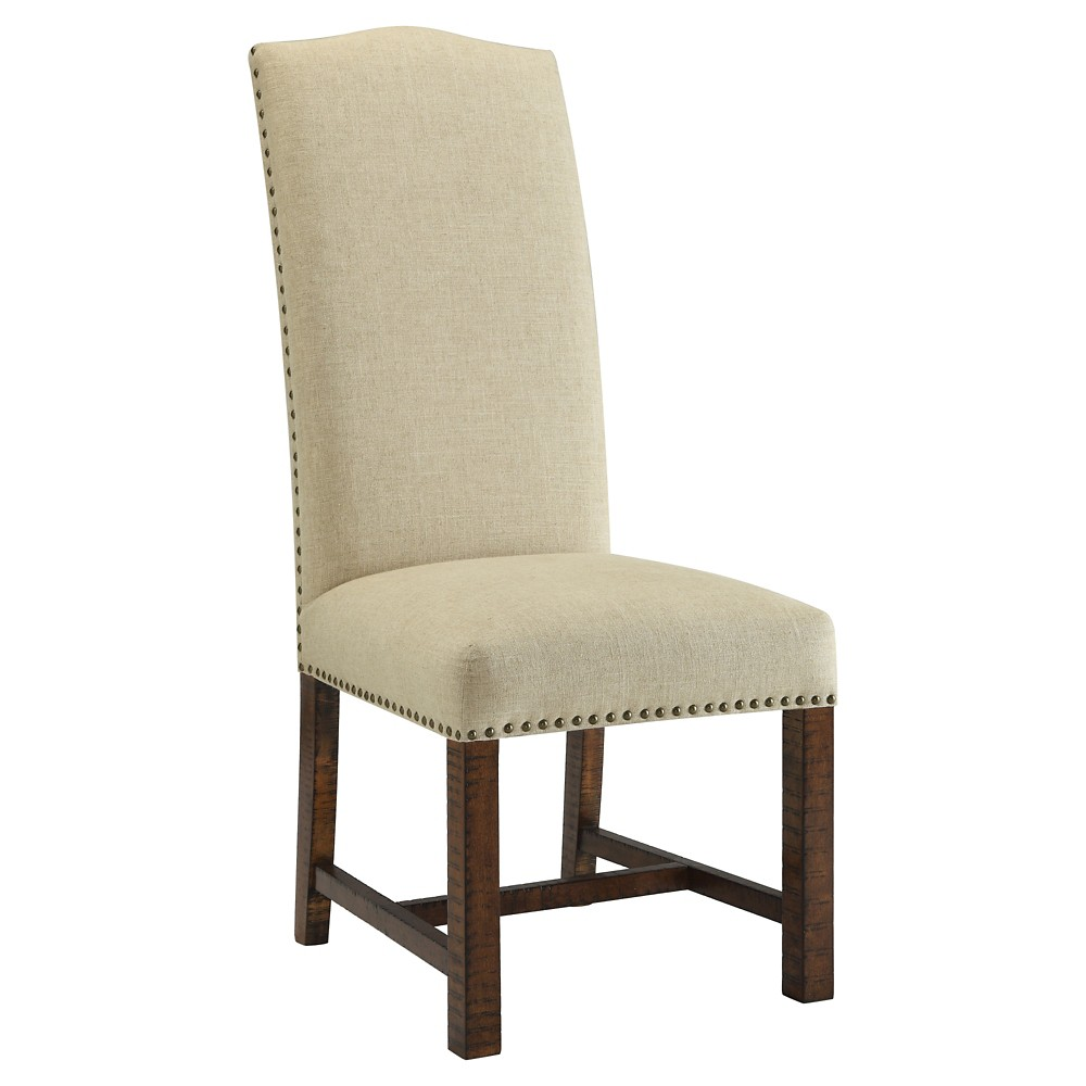 Chatterly Accent Dining Chair (Set of 2) - Brown - Christopher Knight Home