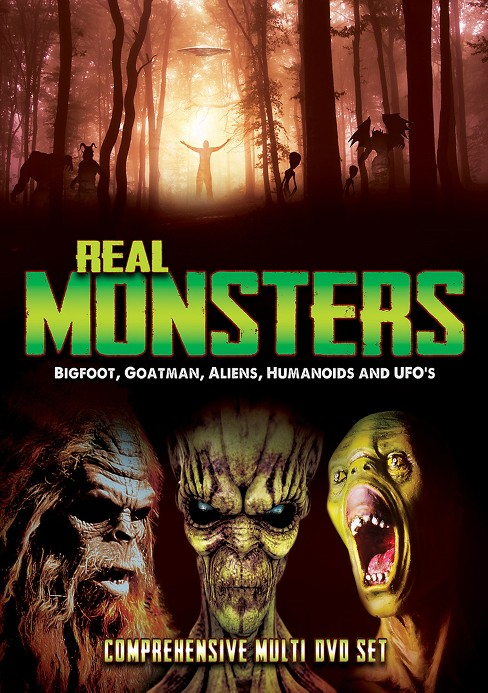 Real monsters:Bigfoot goatman aliens (DVD) - image 1 of 1