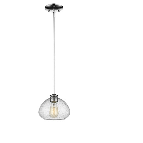 Mini Pendant with Clear Seedy Glass Ceiling Lights - Z-Lite - image 1 of 1