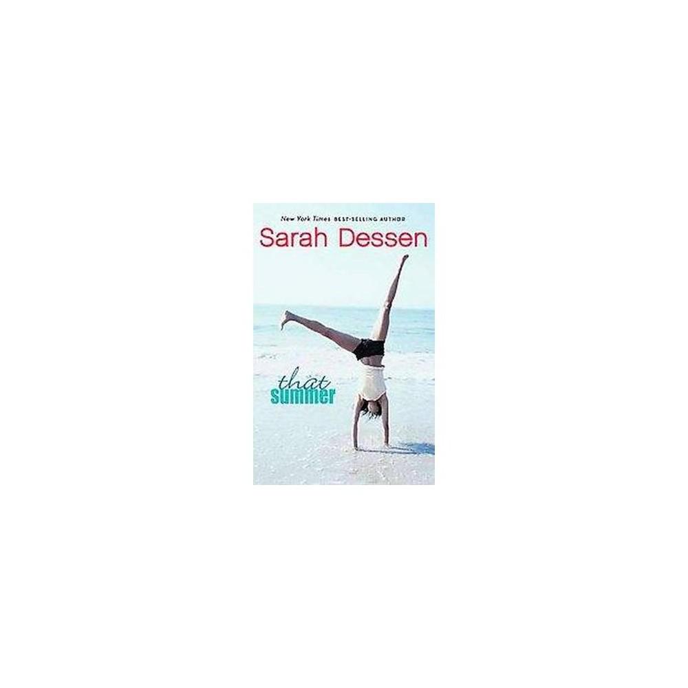 That Summer (Paperback) (Sarah Dessen)