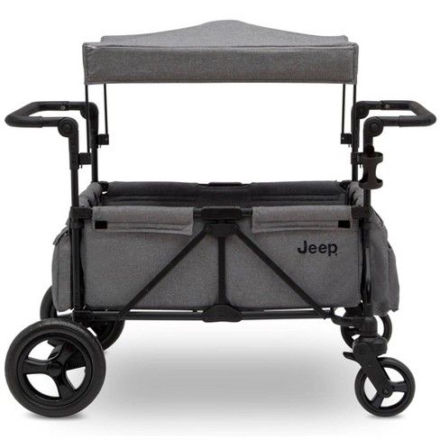 Jeep Wrangler Stroller Wagon With Included Car Seat Adapter By