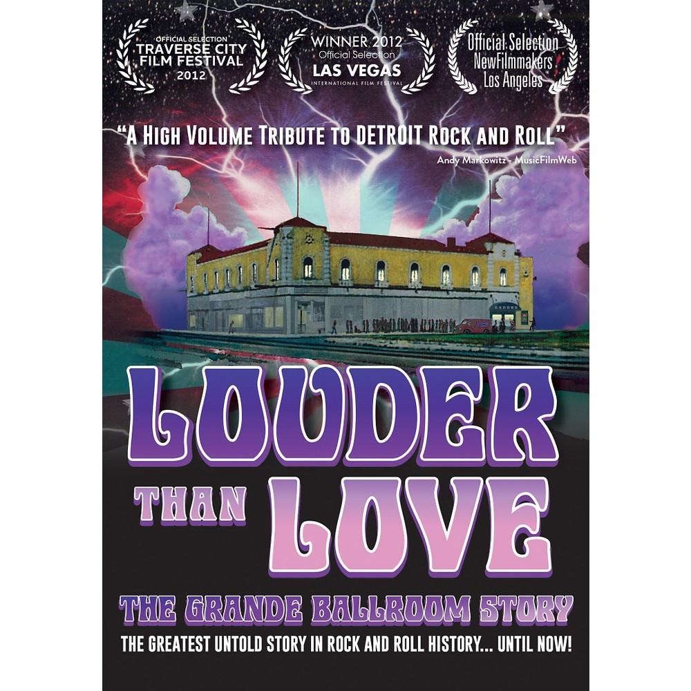 Louder Than Love:Grande Ballroom Stor (Dvd)