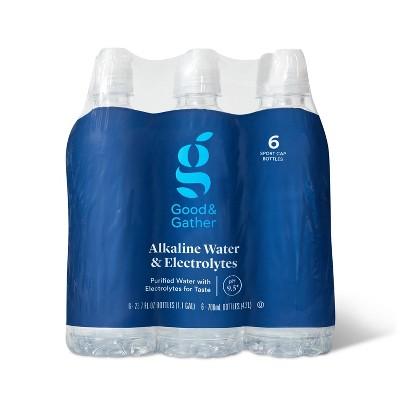 Alkaline Water - 6pk/23.7 fl oz Bottles - Good & Gather™