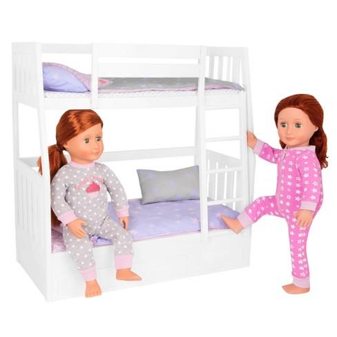 Our Generation Dream Bunks Bunk Beds For 18 Dolls Target