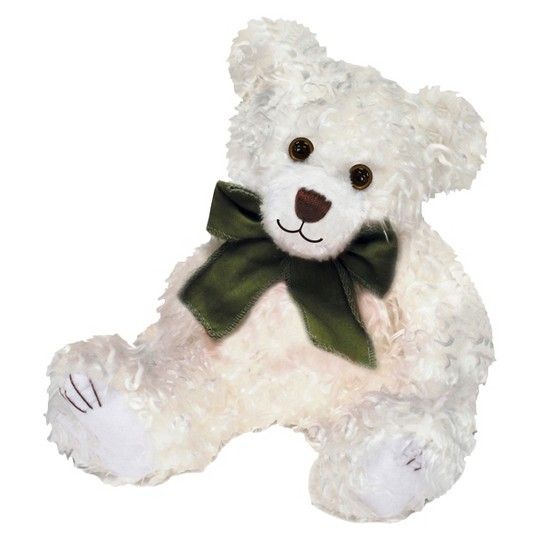 """First & Main Scraggles Plush Toy - White (7.5"""") image number null"""