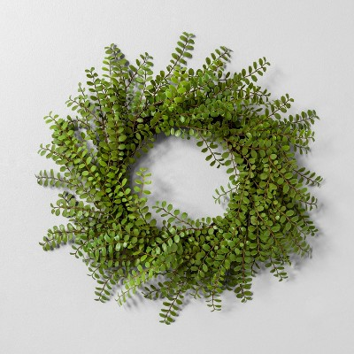 20  Faux Locust Wreath - Hearth & Hand™ with Magnolia