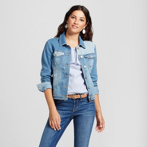 7fe2df49ffe Women s Modern Fit Reworked Denim Jacket - Crafted by Lee® Light Wash