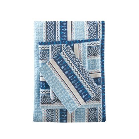 Flannel Print Sheet Sets - image 1 of 5