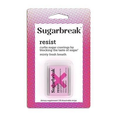 Sugarbreak Resist Adult Strip - Mint - 20ct