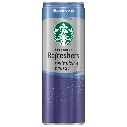 Starbucks Refreshers Revitalizing Energy Blueberry Acai Sparkling Coffee Energy Beverage - 11.5 fl oz Can - image 1 of 2