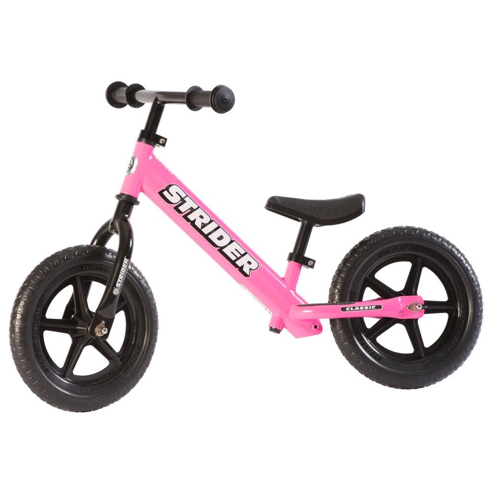 Strider Classic 12 34 Kids 39 Balance Bike Pink