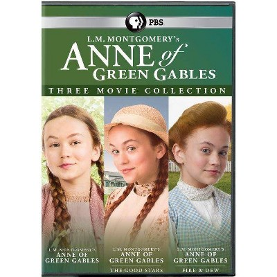 Anne Of Green Gables: Three Movie Collection (DVD)(2021)