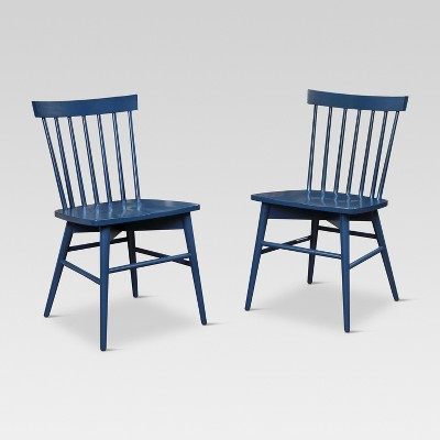 Windsor Dining Chair - Navy (Set of 2)- Threshold™