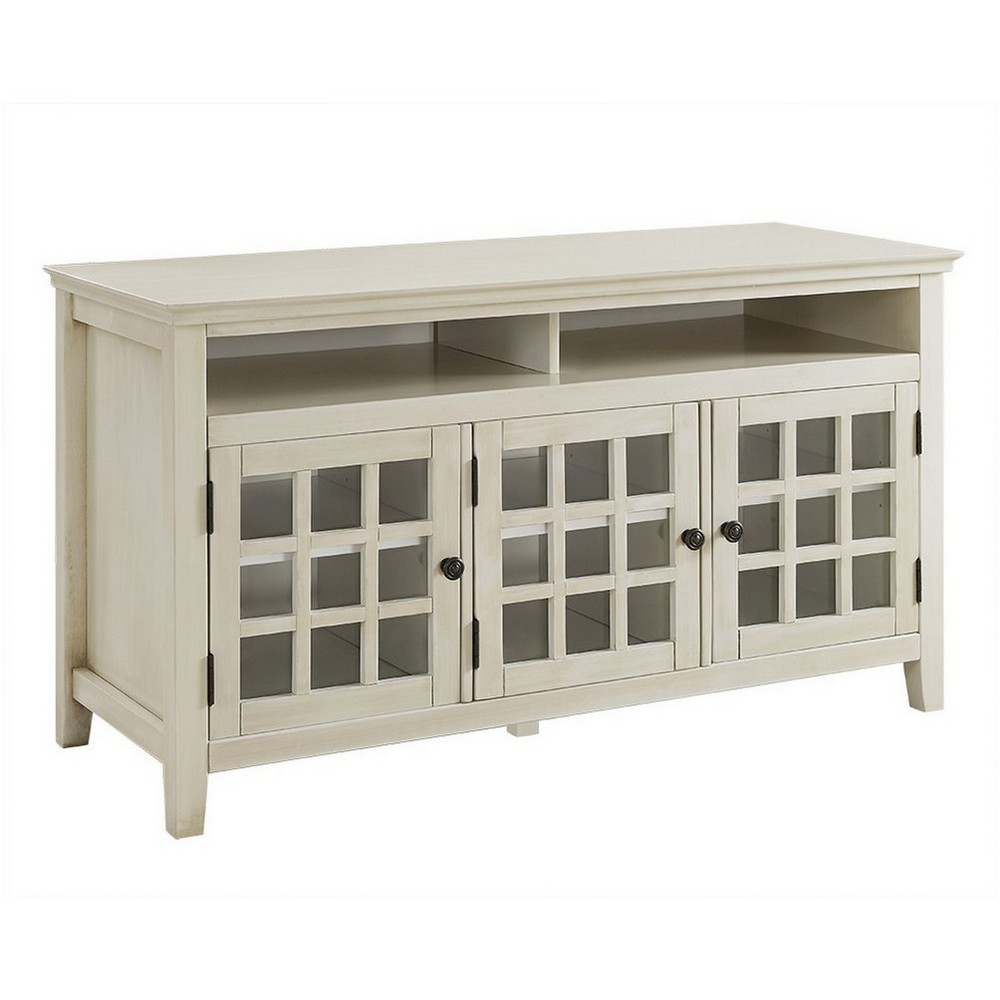 Largo Media Cabinet White - Linon