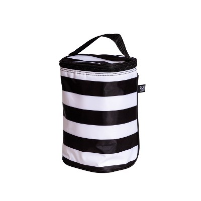 J.L. Childress TwoCool Double Bottle Cooler - Black Stripe
