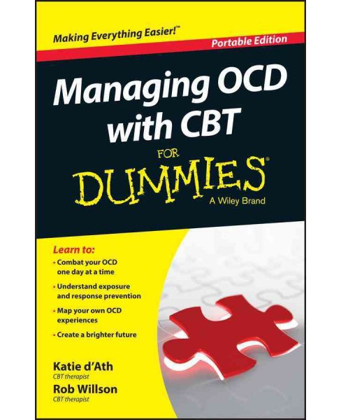 Managing OCD with CBT for Dummies (Paperback) (Katie D'ath & Rob Willson) - image 1 of 1