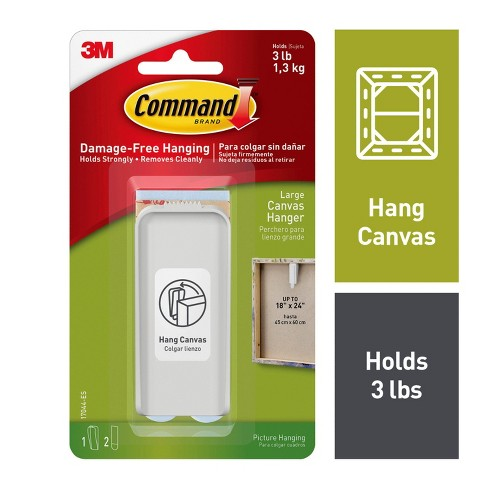 Command Large Canvas Hanger Target