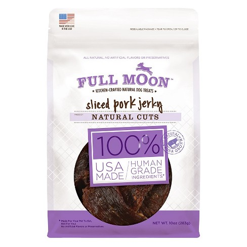 Full Moon Natural Cut Pork Jerky Dog Treats - 5oz - image 1 of 3
