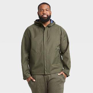 Men's Waterproof Jacket - All in Motion™ Olive Green M