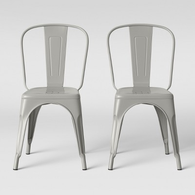 Set of 2 Carlisle High Back Dining Chair Taupe Soft Taupe - Threshold™